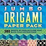 Jumbo Origami Paper Pack: 300 Sheets...