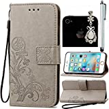 Portefeuille-Wallet-Etui-pour-Huawei-P8-Lite-Sunroyal-Premium-PU-Cuir-Housse-Coque-Dragonne-Book-StyleCase-Cover-Swag-TPU-Silicone-Souple-Couvercle-Rabattable-Back-Cover-avec-Fonction-Support-Porte-Ca