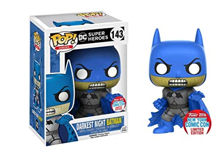 Funko - Figurine DC Comics - Darkest Night Batman NYCC 2016 Pop 10cm - 0889698114950