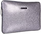 Juicy Couture Electronics Laptop Bag,Silver,One Size