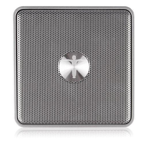 """Wireless Bluetooth Portable Speaker For Iphone 5/4S """"Silver"""""""