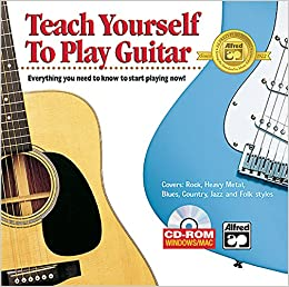 Teaching Yourself Guitar : alfred 39 s teach yourself to play guitar alfred publishing 9780739029725 books ~ Vivirlamusica.com Haus und Dekorationen