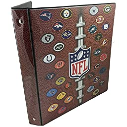 NFL Team School Supplies - Heavy Duty 3-Ring Binder - 1\