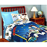 Toy Story Buzz Twin Sheet Set 3pc Woody Bedding Sheets