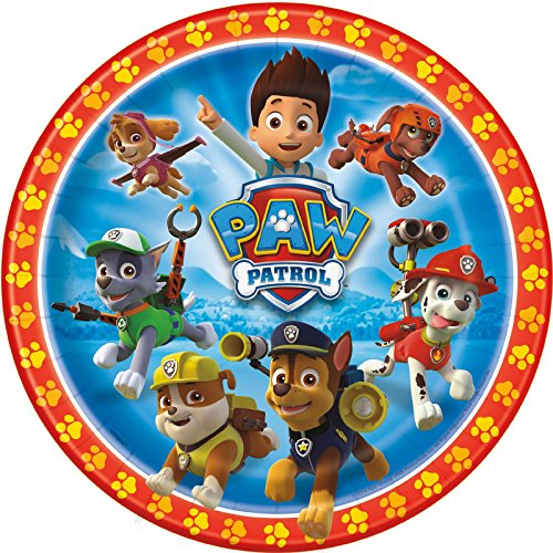 PAW Patrol Dinner Plates (8) - 1