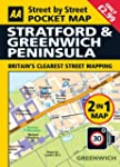 Pocket Map Stratford, Greenwich (Aa S...