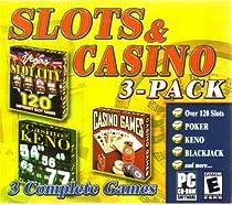 Slots & Casino 3-Pack (Keno, Slots, Cards)