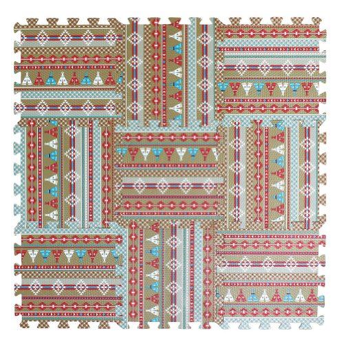 Spice Co. Baby Play Mat, Native - 1