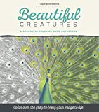 img - for Beautiful Creatures Grayscale Coloring Book for Adults: A Boundless Adult Coloring Book Adventure book / textbook / text book