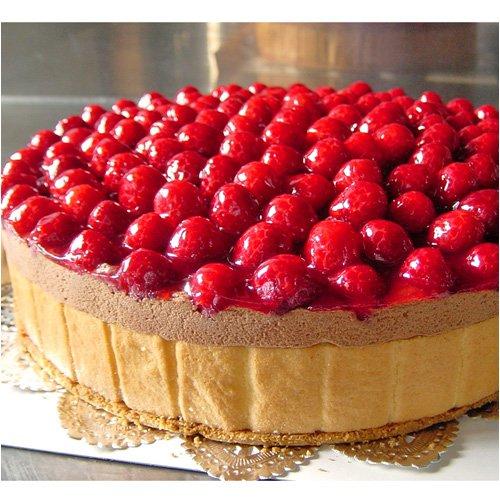 最高級洋菓子 フランスの銘菓 ヴァルトベーレ 木いちごチョコレートケーキ 直径15cm