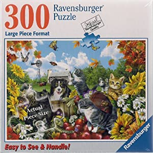 Ravensburger 300 Large Piece Puzzle Doggie Delight