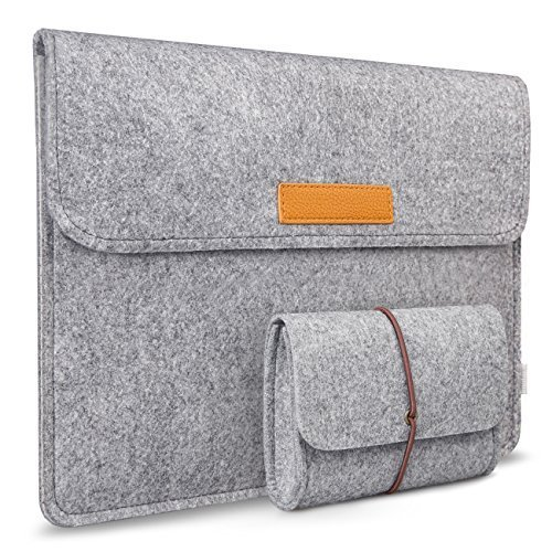 Inateck 12-Inch New MacBook Sleeve Case Cover Bag for Apple Macbook 12
