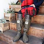 [日本野鳥の会] バードウォッチング長靴 【ブラウン】