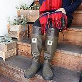 [日本野鳥の会] バードウォッチング長靴 【ブラウン】(【SS】23cm?【3L】28cm)