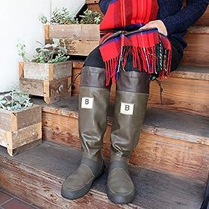 [日本野鳥の会] Wild Bird Society of Japan バードウォッチング長靴 3L(28.0cm) ブラウン