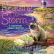 Reading Up a Storm: Lighthouse Library Mystery Series, Book 3 | Eva Gates