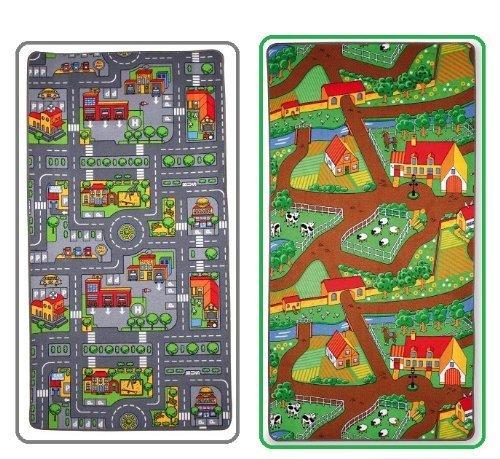 childrens-reversible-roadmap-farmlife-playmat-rug-bedroom-playroom-cars-animal-rugs