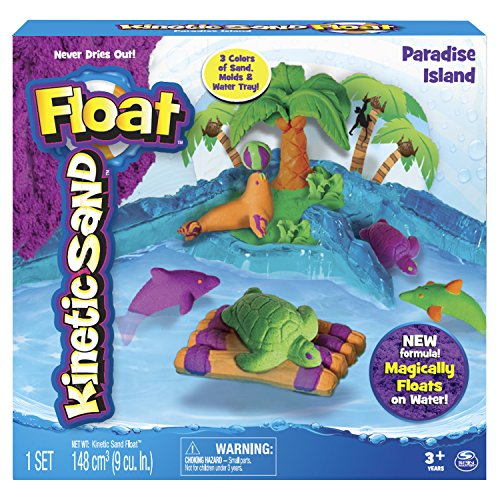 Kinetic Sand Float, Paradise Island - 1