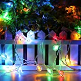 InnooTech Battery Operated String Lights Christmas Lights Outdoor Ball Fairy Lights 40 Led for Garden Patio Party Wedding Xmas