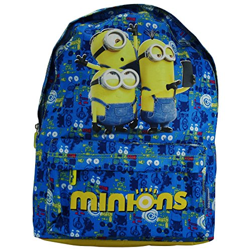 Minions-Selfie-Backpack-Daypack-Freetime-Travel-Bag-Freetime
