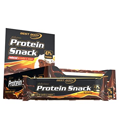 Best Body Nutrition Protein Snack Schoko, 20 Stuck, 1er Pack (1 x 800 g)