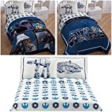 Star Wars Saga Classic Reversible Full Size Bedding Set - Full Comforter, Sheet Set & Pillow Cases