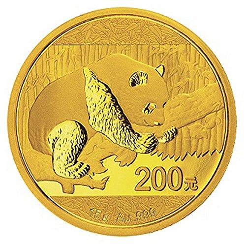 2016 CN 200 Yuan Gold Chinese Panda .999 15g - Brilliant Uncirculated
