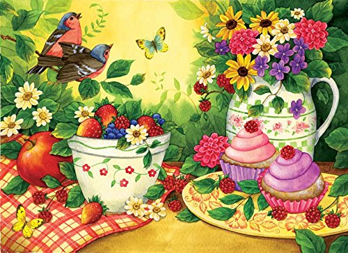Cupcakes for Two a 500-Piece Jigsaw Puzzle by Sunsout Inc.