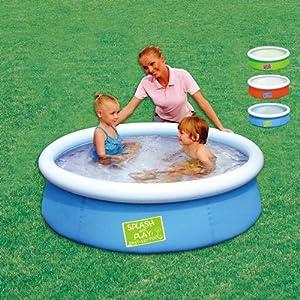 Piscina tonda gonfiabile splash play per bambini in pvc - Amazon piscina bambini ...