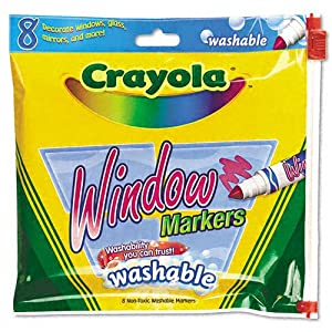 Washable Window FX Markers