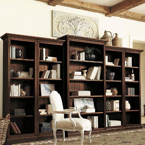 Tuscan Bookcase Set 5 Piece Ballard Designs Check