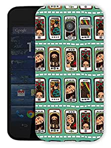 """Selfies And Girlfriends Printed Designer Mobile Back Cover For """"Motorola Moto X"""" By Humor Gang (3D, Matte Finish, Premium Quality, Protective Snap On Slim Hard Phone Case, Multi Color)"""