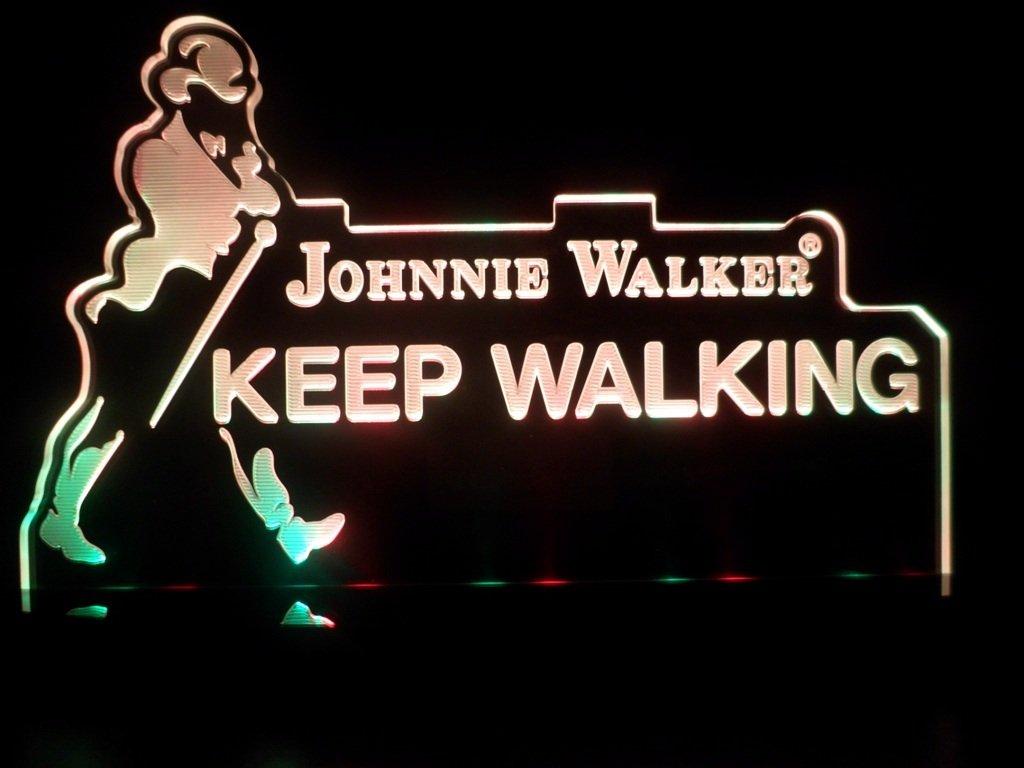 Johnnie Walker Logo Sign