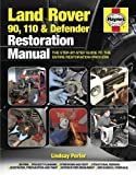 Lindsay Porter Land Rover 90. 110 & Defender Restoration Manual (Haynes Restoration Manuals)