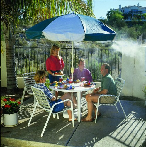 Parts Of A Patio Misting System : Orbit arizona outdoor misting system basic inch