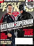 img - for MUSCLE & FITNESS Magazine March 2016 Affleck & Cavill As Batman vs Superman book / textbook / text book