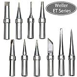 10 Pcs of Weller Wes51 Soldering Tips, Weller ET Series Solder Tips for WES51,WES50,WESD51,PES51,PES50 Soldering Tips (Color: 10pcs)