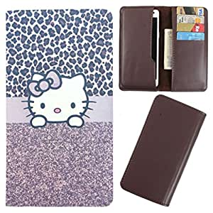 DooDa - For Lava Iris x8 PU Leather Designer Fashionable Fancy Case Cover Pouch With Card & Cash Slots & Smooth Inner Velvet