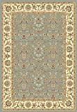 Safavieh Lyndhurst Collection LNH312B Light Blue and Ivory Area Rug, 5-Feet 3-Inch by 7-Feet 6-Inch