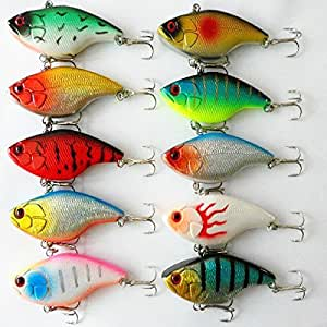 Swimbait crankbait fishing lures bass hook for Amazon fishing spinners