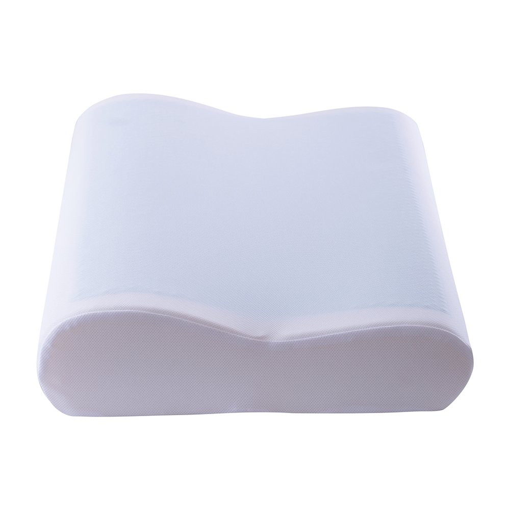 Cr Sleep Gel Memory Foam Contour Pillow for Sleeping Cool and Neck Support, Standard Size, 1-Pack