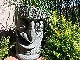 Happy Tiki Planter (Green Granite)