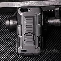 ZTE Blade V6 / D6 / X7 Case, Cocomii® [HEAVY DUTY] Robot Case *NEW* [ULTRA FUTURE ARMOR] Premium Belt Clip Holster Kickstand Bumper [MILITARY DEFENDER] Full-body Rugged Dual Layer Cover (Black) ★★★★★