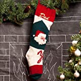 Christmas Stocking Hand Knit With Optional Personalization