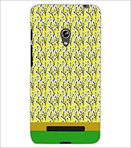 PrintDhaba Floral Pattern D-1885 Back Case Cover for ASUS ZENFONE 5 A501CG (Multi-Coloured)