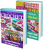 How To Crochet BOX SET 2 IN 1: 55 Most Popular Crochet Patterns For Beginners: (Crochet patterns, Crochet books, Crochet for beginners, Stitch Patterns) ... to Corner, Tunisian Crochet, Toymaking)