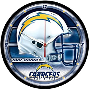 Wincraft San Diego Chargers Round Clock by WinCraft