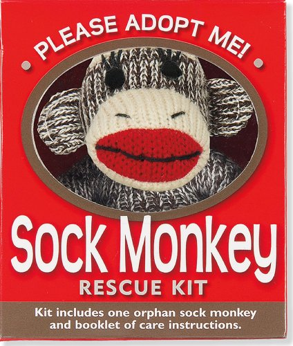 Sock Monkey Rescue Kit (Activity Kit) (Petites Plus Kit)