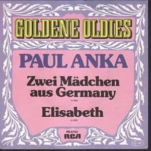 Paul Anka Zwei Madchen Aus Germany Amazon Com Music