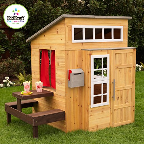 Outdoor Playhouses Toy : Wooden playhouses for kids backyard toys
